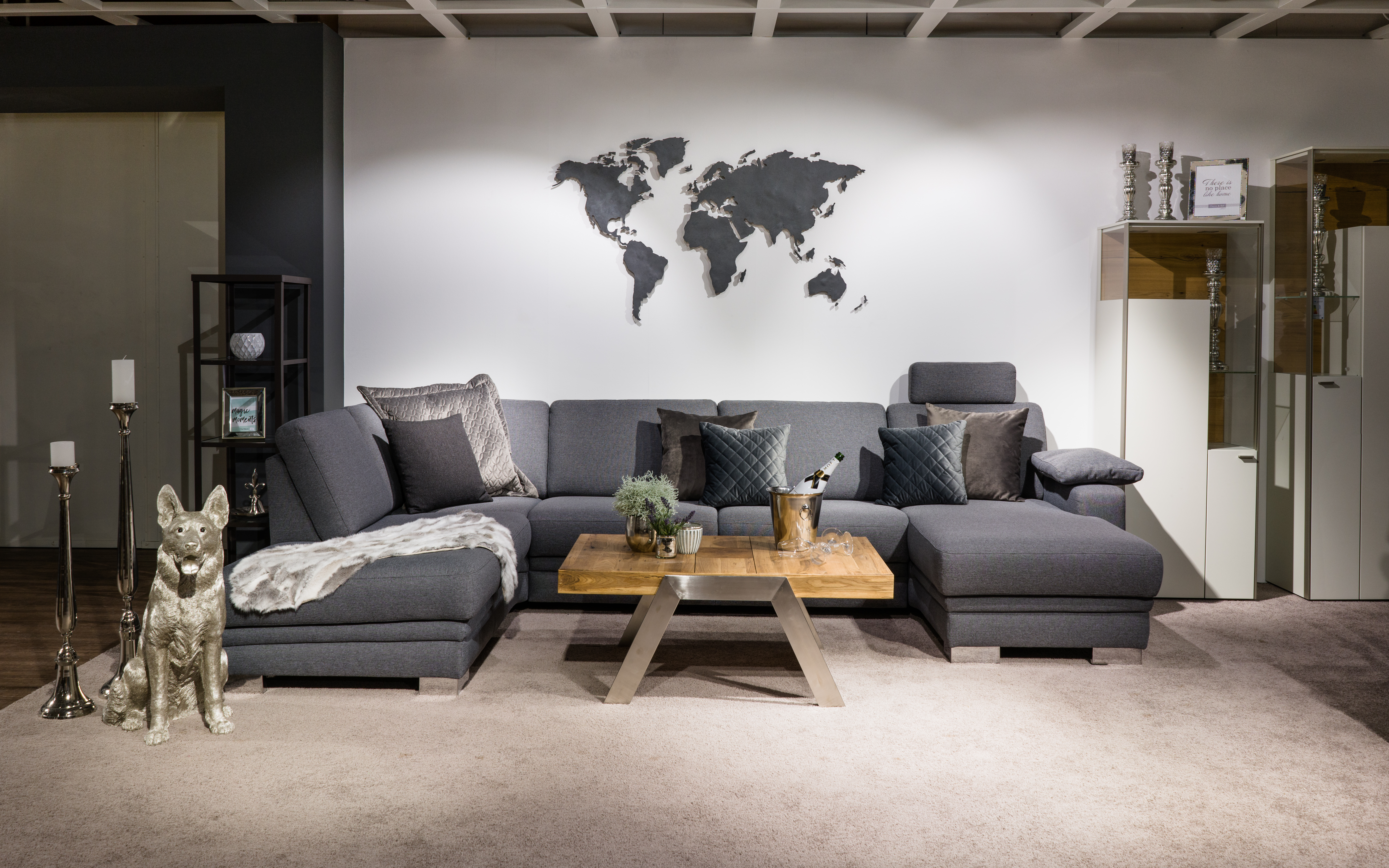 ᐅ Home Decor World Map Wall Pictures
